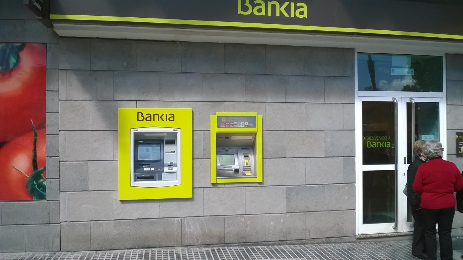Cajeros bankia mesa y lopez construplan construcciones for Telefono oficina bankia